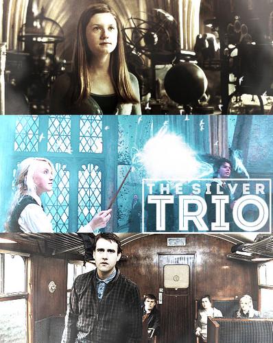 The silver trio