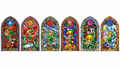 Toon Link Wallpaper Possibly Containing A Stained Glass Window Entitled Wallpapers