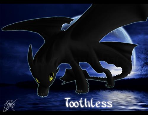 Toothless Обои