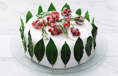 Traditional Irish クリスマス Cake
