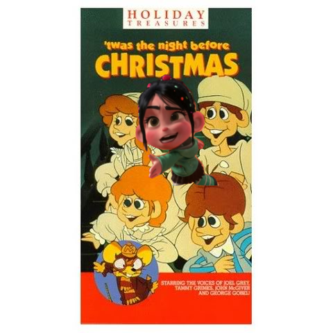 Vanellope in Twas the Night Before pasko