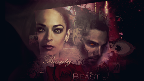 Beauty and the Beast (CW) wallpaper possibly with a sign titled Vincent & Catherine