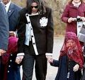 Visiting The Berlin Zoo With His Family Back In 2002 - michael-jackson photo