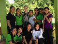 Visits Somaly Mam Foundation In Cambodia - dianna-agron photo