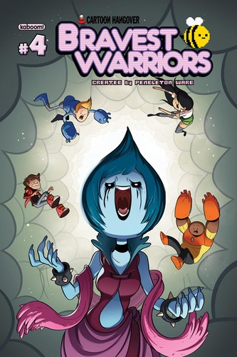 Bravest Warriors Comic Cover #4