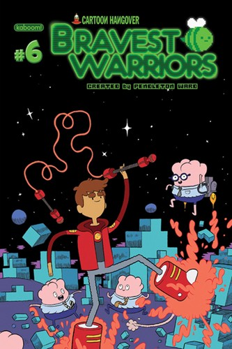 Bravest Warriors Comic Cover #6