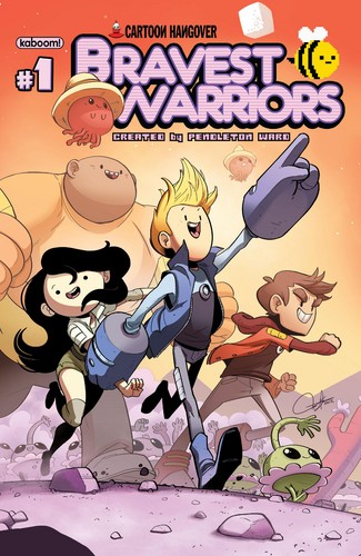 Bravest Warriors Comic Cover #1