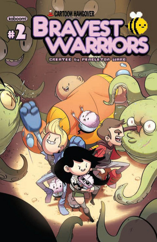 Bravest Warriors Comic Cover #2
