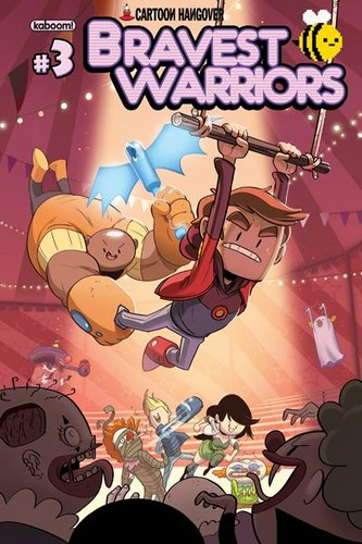Bravest Warriors Comic Cover #3