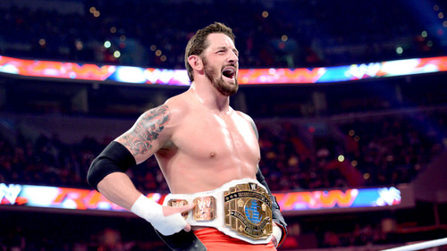 Wade Barrett win the Inter. Titel
