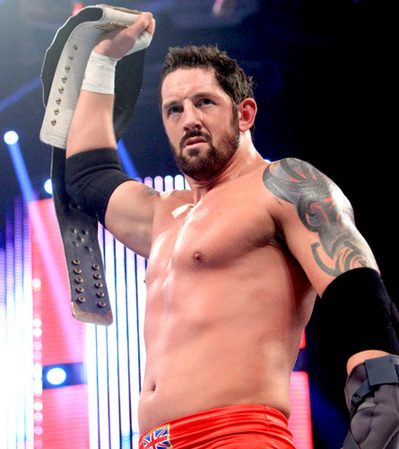 Wade Barrett win the Inter. 제목