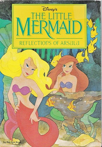 Walt disney buku - The Little Mermaid: Reflections of Arsulu