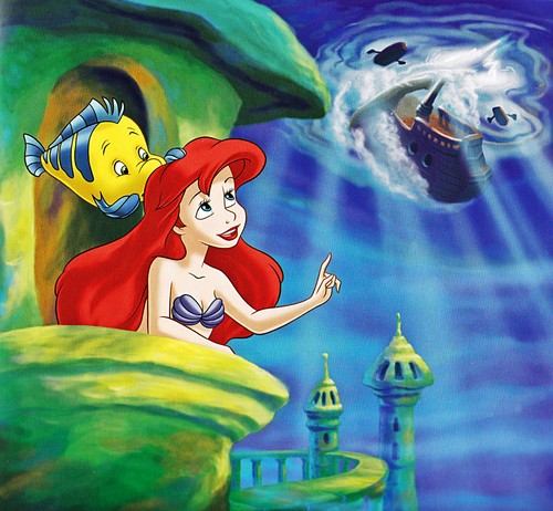 Walt 디즈니 책 - The Little Mermaid: The Rise of the Kobaa