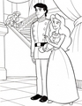 Walt Disney Coloring Pages - Princess Ariel, Prince Eric &amp; Vanessa - walt-disney-characters photo
