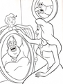 Walt ডিজনি Coloring Pages - Scuttle, Vanessa & Ursula