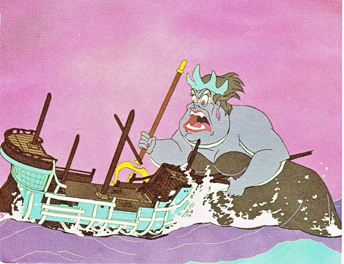 Walt Дисней Production Cels - Ursula