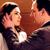 The Good Wife foto probably containing a portrait entitled Will & Alicia<3
