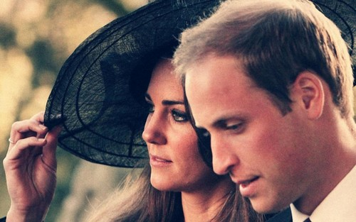 Prince William and Kate Middleton wallpaper called Wills & Kate