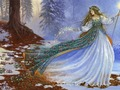 Winter Fairy wallpaper