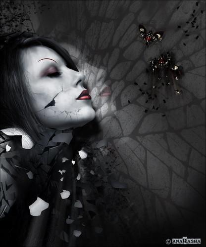 Women in darkness