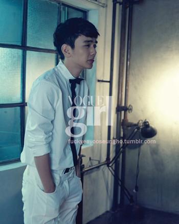 Yoo Seung Ho for Vogue Girl