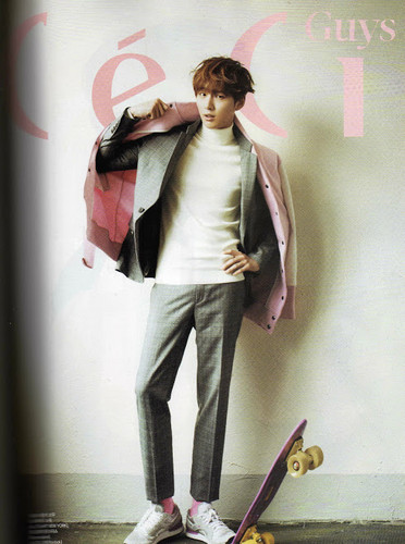 Yoon si yoon in 2013 Jan Ceci Magazine