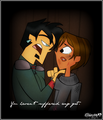 You haven't suffered... - total-drama-island fan art