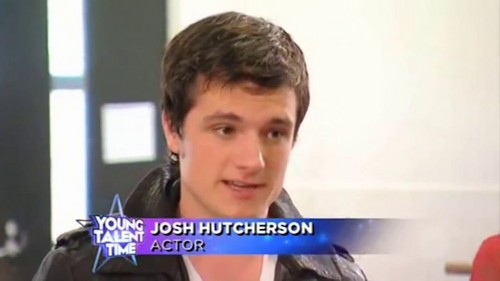Josh Hutcherson wallpaper possibly with a portrait entitled Young Talent Time - Screencaptures