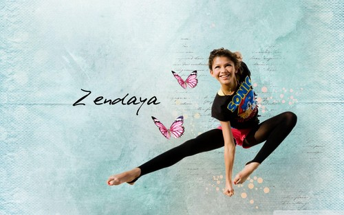 zendaya coleman wallpaper possibly containing a leotard called Zendaya <3