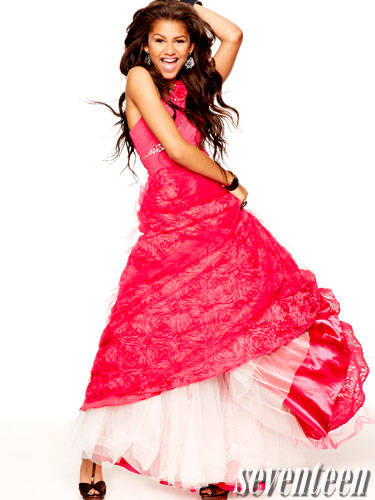 Zendaya on the Cover of Seventeen Magazine – Prom Edition ...