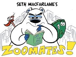 Seth MacFarlane wallpaper containing anime titled Zoomates