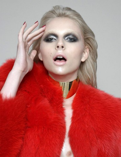 andrej pejic wallpaper with a bulu mantel entitled andrej