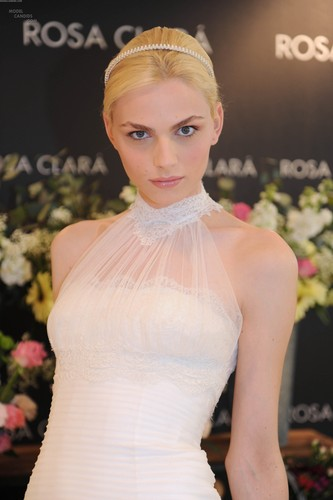 andrej pejic wallpaper containing a gown, a bridesmaid, and a dinner dress called andrej