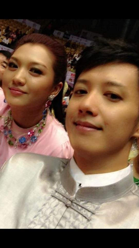 at Academy ceremony 2011 with Sai Sai