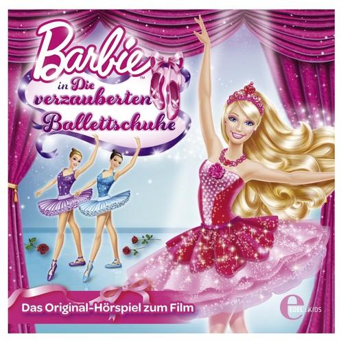 barbie in the berwarna merah muda, merah muda shoes