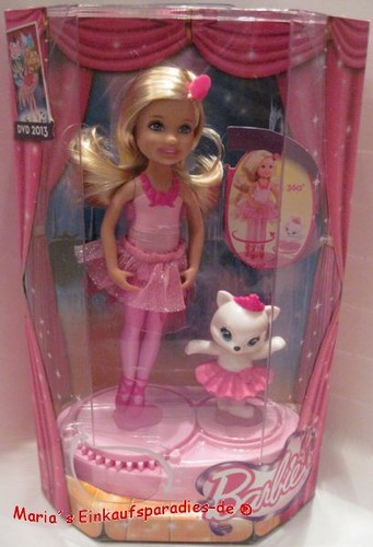 Barbie in the rose shoes