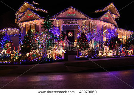 Christmas lights beautiful pictures photo 33141025 - Petite maison de noel decoration ...