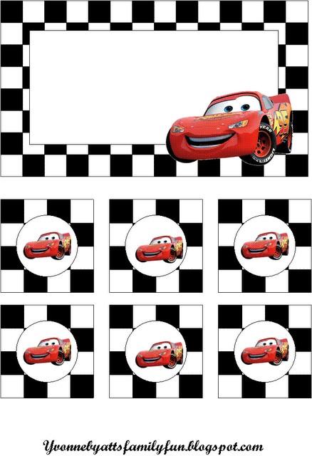 disney cars banner