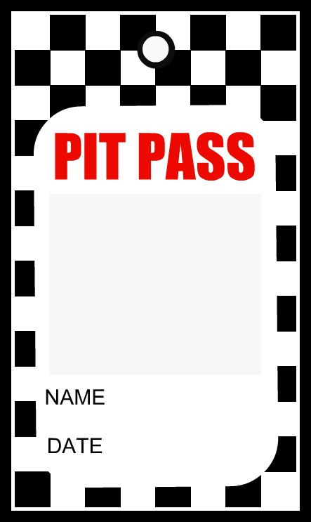 Disney cars pit pass