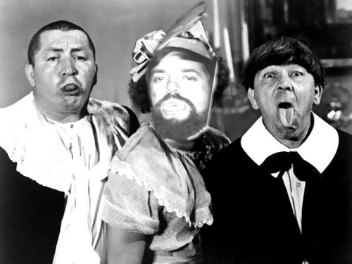Three Stooges wallpaper possibly with a business suit titled fir