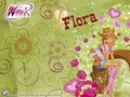 flora wallpaper - winx-club-flora wallpaper