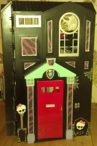 front of monster high house