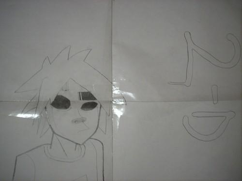 고릴라즈 draw