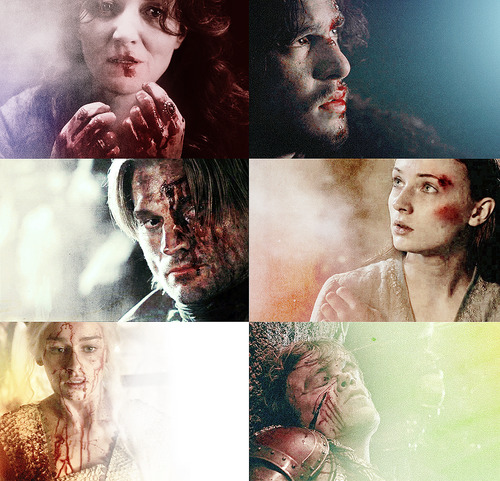 Bruised and Battered + Game of Thrones