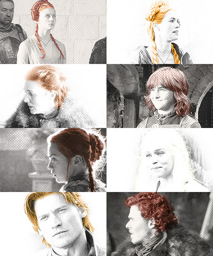 Game of Thrones (Season 1) + Hairstyles