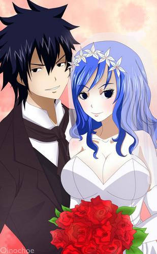 gruvia wedding - fairy-tail Photo