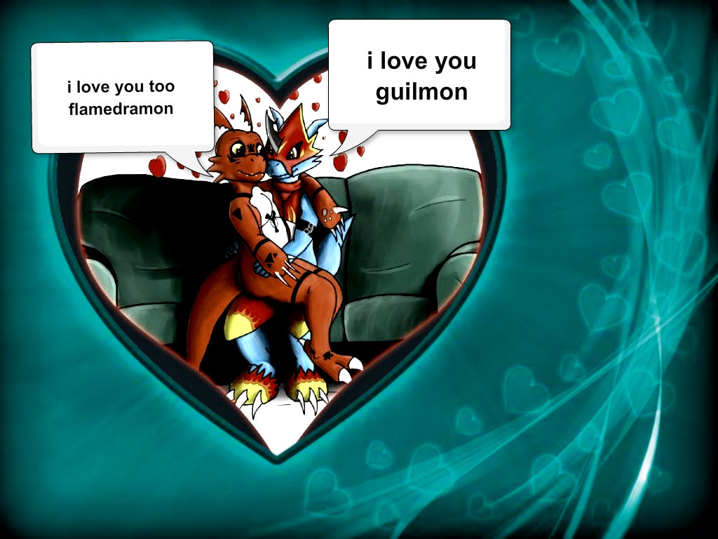 Digimon couples images...