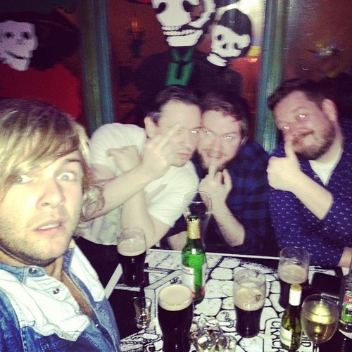 Keith Harkin achtergrond possibly with a brasserie, a bistro, and a avondeten, diner tafel, tabel entitled hoodz in derry