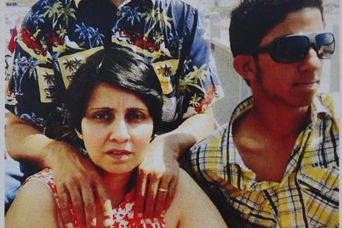 jacintha saldanha and her family