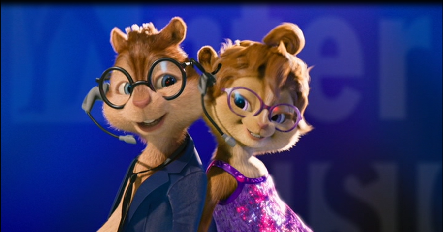 The Chipettes Jeanette And Simon
